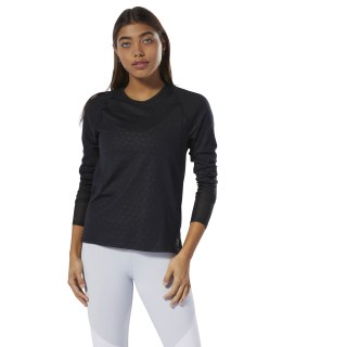 SmartVent Long Sleeve Tee Black DP5646
