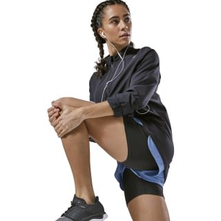Running Hero Reflective Jacket Black CY4674