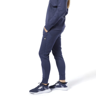 Спортивные брюки Training Supply Knit heritage navy EC1216