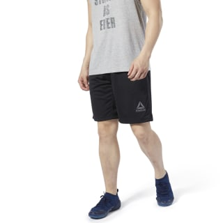 LES MILLS® Mesh Basketball Shorts Black DV2723