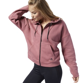 Sudadera Workout Ready Hooded Rose Dust EC2381