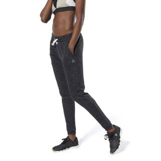 Pantalon à effet marbré Training Essentials Black DU4931