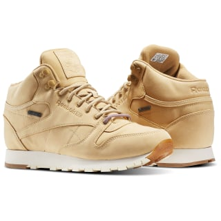 Classic Leather Mid GTX-THIN Beige / Paper White / Gum BS7882