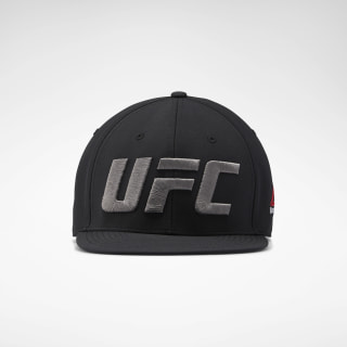 Czapka z daszkiem UFC Fight Night Flat Peak Black EI0806