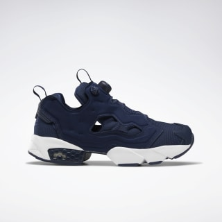 InstaPump Fury OG Shoes Collegiate Navy / White DV6986