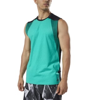 One Series Training SmartVent Tank Top Turquoise / Black DY8003