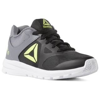 Reebok Rush Runner Black / Cold Grey / Neon Lime / True Grey DV4433