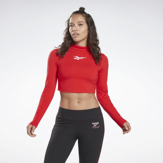 Vector Crop Top Primal Red FN1529