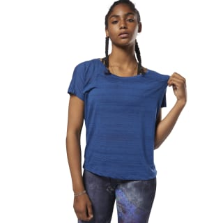 Burnout Tee Bunker Blue D93853