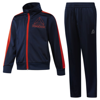 Boys Workout Ready Tricot Tracksuit Collegiate Navy DH4328