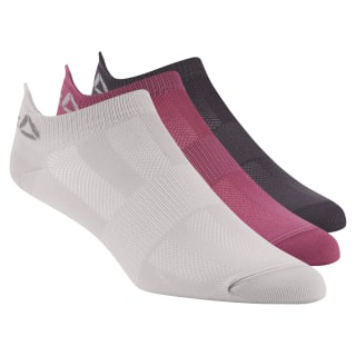 Reebok ONE Series Socks - 3pack Lavender Luck / Smoky Volcano / Twisted Berry D67937
