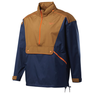 Classics Trail Windbreaker Collegiate Navy / Wild Brown FM5021