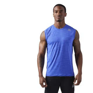 Gym-Ready Tank Acid Blue CE0666