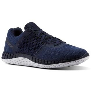 Кроссовки для бега Reebok Print Run Distance COLLEGIATE NAVY/WHITE/STEEL CN1656