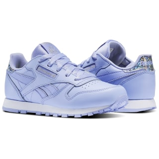 Zapatillas Classic Leather Pastel LILAC GLOW/WHITE BS8979