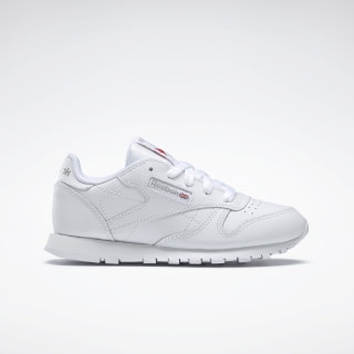 Classic Leather - Kleuters White 50172