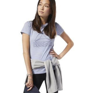 Training Essentials Logo Tee Denim Dust EC2323