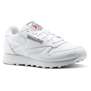 Classic Leather White/Carbon/Red CN0908