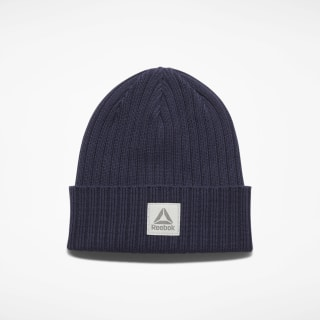 Active Foundation Logo Beanie Heritage Navy EC5589