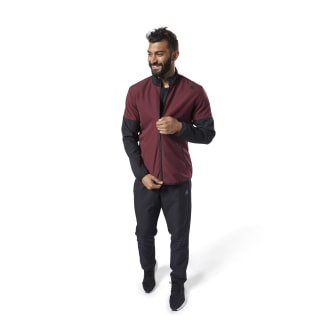 Woven Tracksuit Lux Maroon EC0810