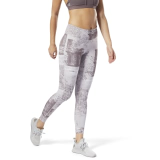 Lux Bold Legging - Dismantled Flora Lavender Luck CY4977