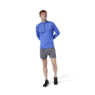 Run Essentials Quarter Zip Crushed Cobalt DP6753