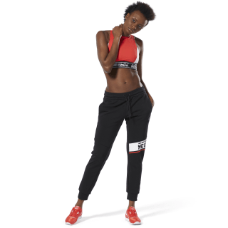 WOR Meet You There Graphic Joggers Black DU4823