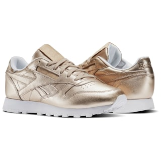 Classic Leather Melted Metals Gold/Pearl Met-Peach/White BS7897