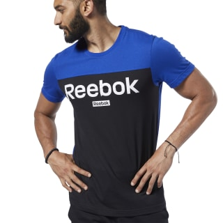 Camiseta Training Essentials Linear Logo Cobalt FI1948