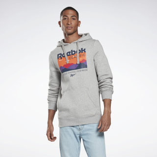 Classics Trail Hoodie Medium Grey Heather FR6692