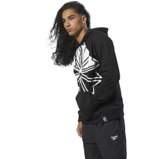 HOODED SWEAT AC F DIS OTH black DH2056