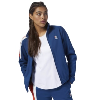 Classics Advanced Track Jacket Bunker Blue DH1214