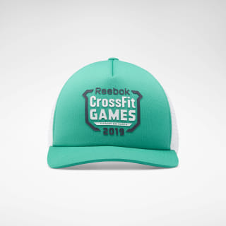 Кепка Reebok CrossFit® Games Trucker Green/emerald FI9313