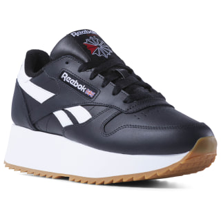 Classic Leather Double Black/White/Primal Red DV3631