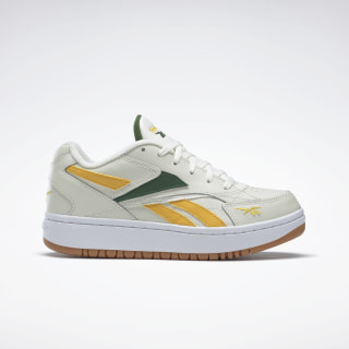 Court Double Mix Shoes Chalk / Glen Green / Reebok Rubber Gum-05 FW3628