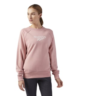 Cotton Cover-Up Sweatshirt Chalk Pink CF3949
