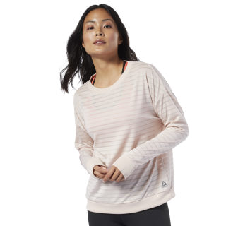 Studio Mesh Long Sleeve Tee Buff EB8076