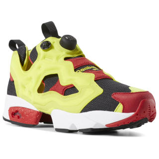 Кроссовки InstaPump Fury OG Yellow / Black / Hypergreen / Rbk Red V47514