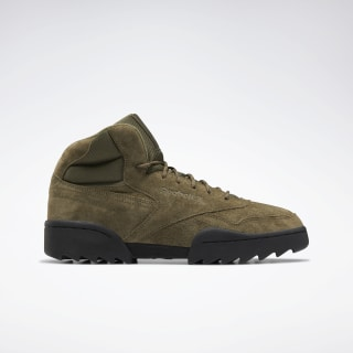 Кроссовки Reebok Exofit Hi Plus Ripple Green/army green/soft camel/black FU9127