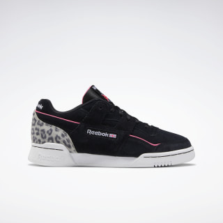 Workout Lo Plus Black / White / Solar Pink EG6014