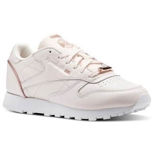 Tenis Classic Leather HW PALE PINK/ROSE GOLD/WHITE BS9880