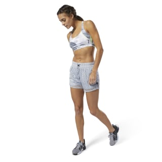 Short in mesh WOR Meet You There Cold Grey DU4848