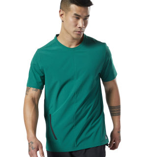 Training Supply Woven Tee Clover Green EC0719