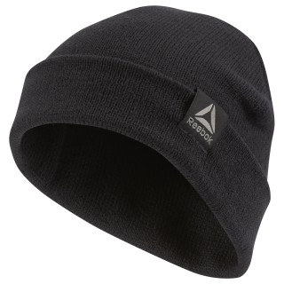 Шапка Active Foundation Knitted black CZ9829