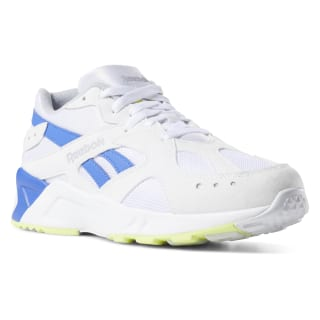 Zapatillas Aztrek 90s-white / cold grey / crushed cobalt / neon lime DV3900