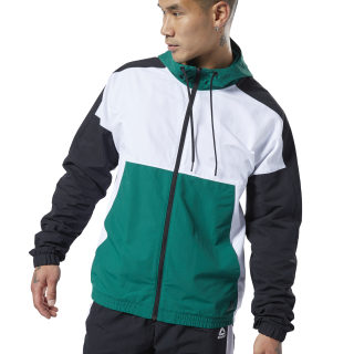Meet You There Woven Jacket Clover Green EC0817