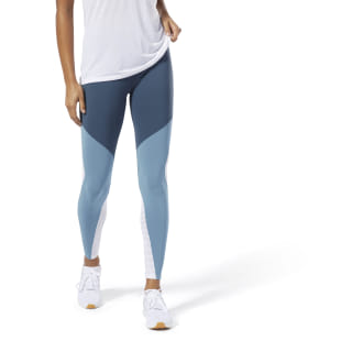 Legging Lux motif color-block Blue Hills DU4093