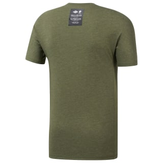 Remera Rc Move Tee canopy green mel DY8431
