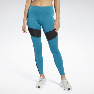 Леггинсы Workout Ready Mesh Turquoise/seaport teal FJ2763