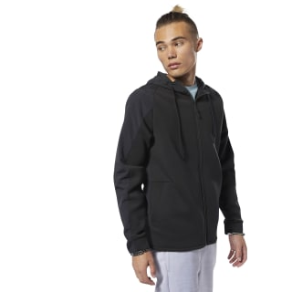Jaqueta com Capuz Training Supply Full-Zip Black DP6119
